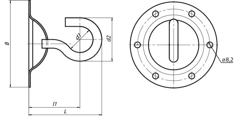 крюк сферический КФС-12